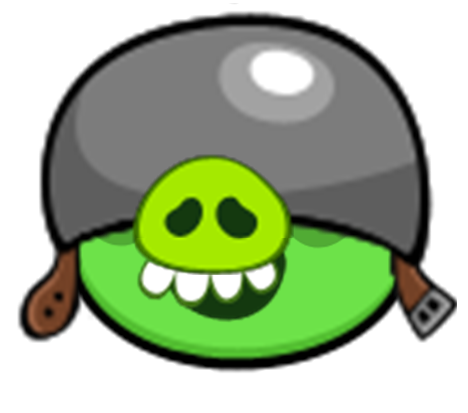 Angry birds pig png. Image corporal story wiki