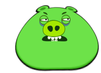 Angry birds pig png. Image supermassive fanon wiki