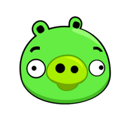 Angry birds pig png. Original roblox