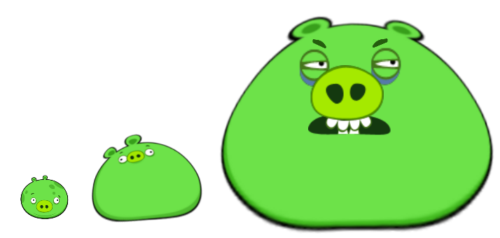 Angry birds pig png. Image comparison fanon wiki