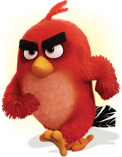 Angry birds red png. Characters