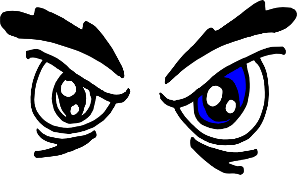 Angry cartoon eyes png. Clip art at clker