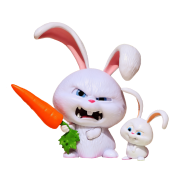 Angry clipart rabbit. Bad bunny cartoon images