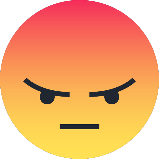 Emoji clipart mad. Reactions by lester gonzales