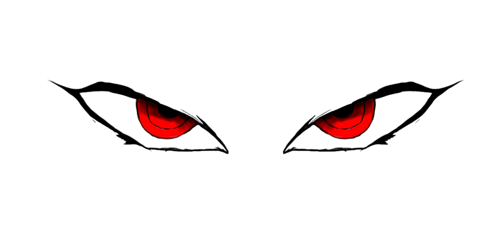 Angry eyes png. Psd official psds