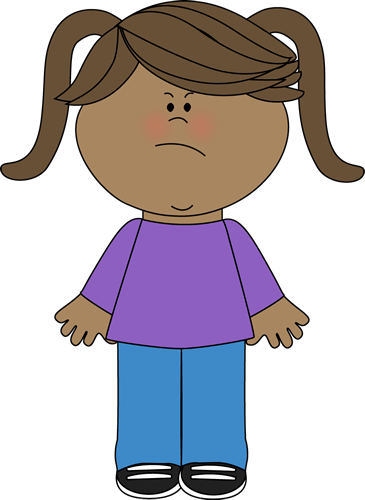Mad clipart couple. Angry little girl graphics