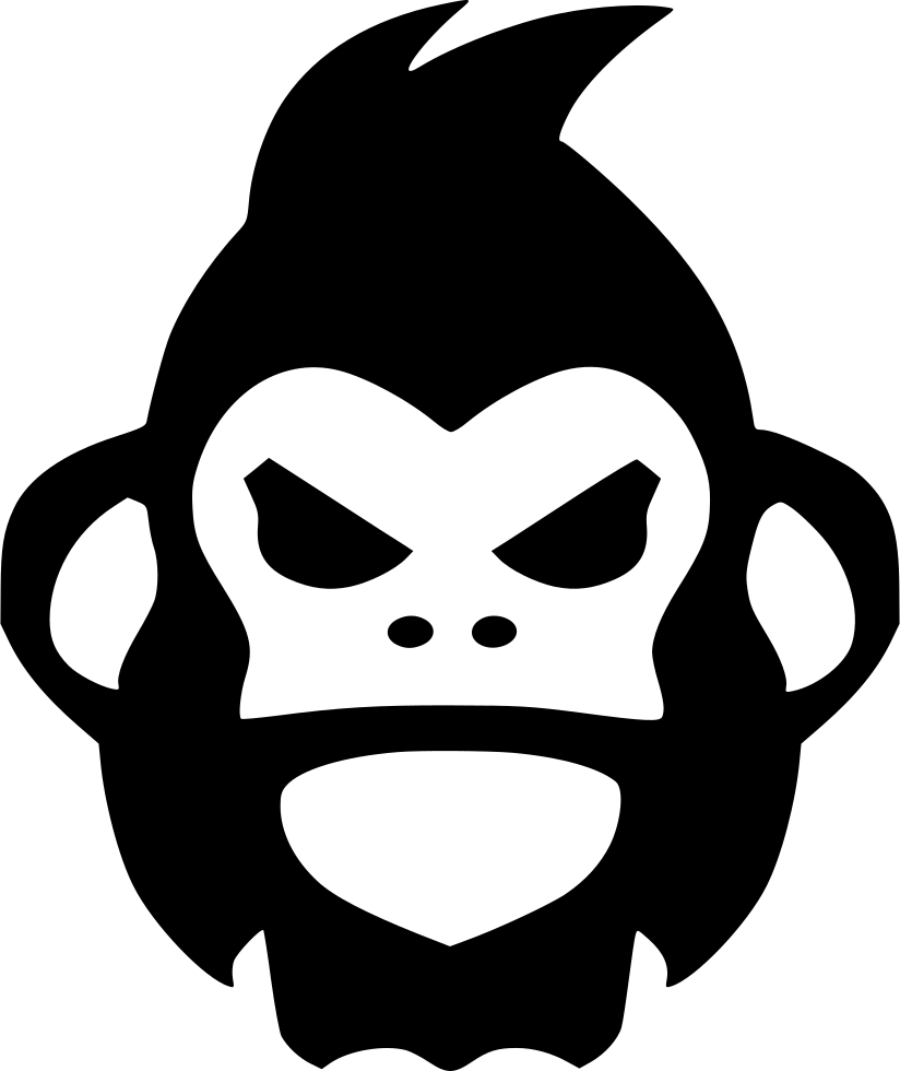 drawing gorillas svg