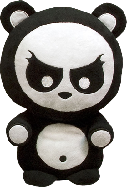 Angry panda png. Plush ozzie collectables