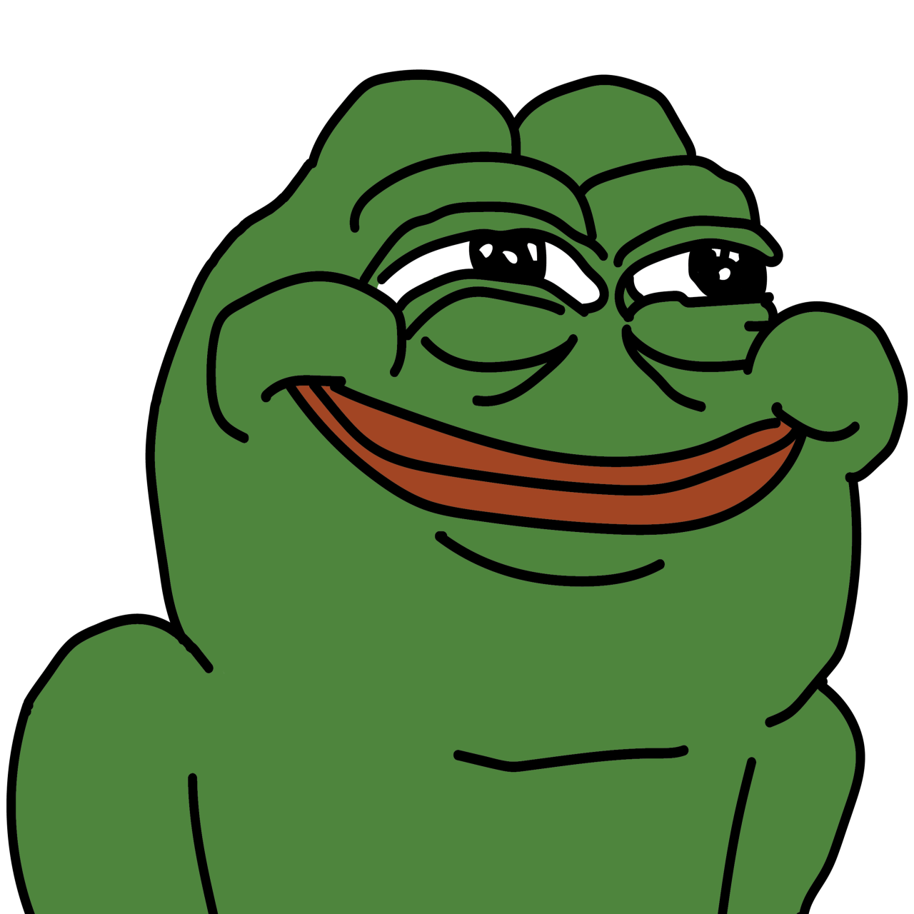 Angry pepe png. An open commentary about