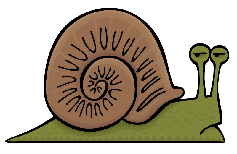 Angry snail png. Dead doodles depressed