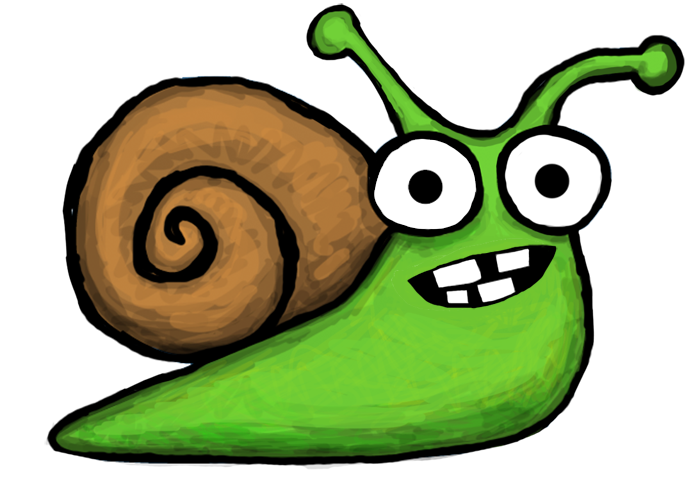 Angry snail png. Snailio is sluggo s
