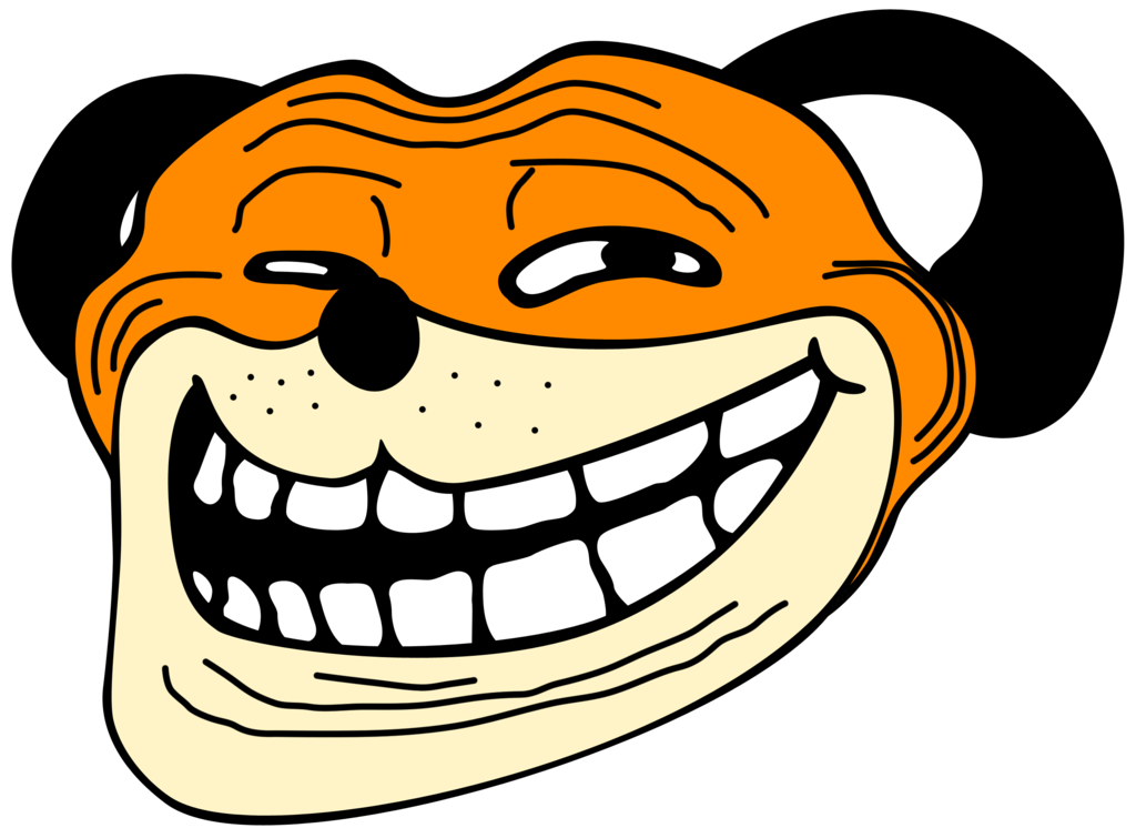 Angry troll face png. Duck hunt dog u