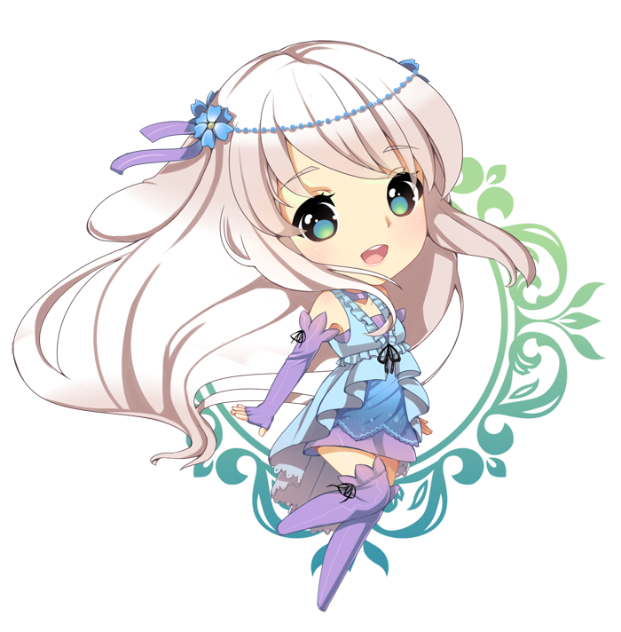 Anima drawing adorable. Sketch chibi commission for
