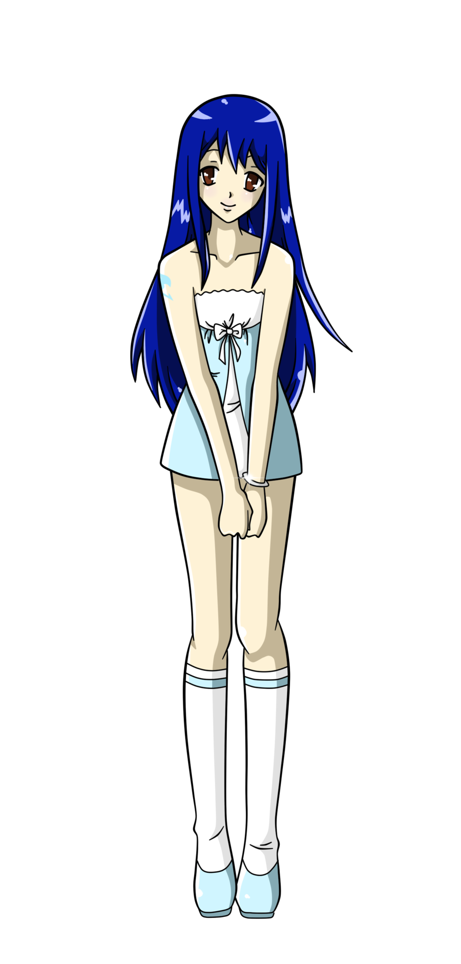 Anima drawing full body. Collection of anime