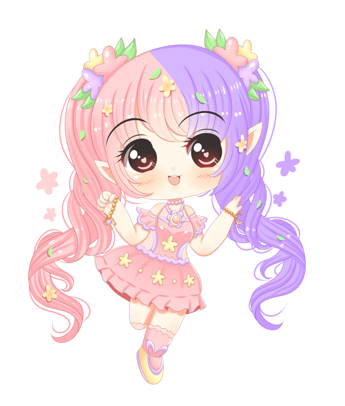 Anima drawing kawaii. Draw anything in chibi