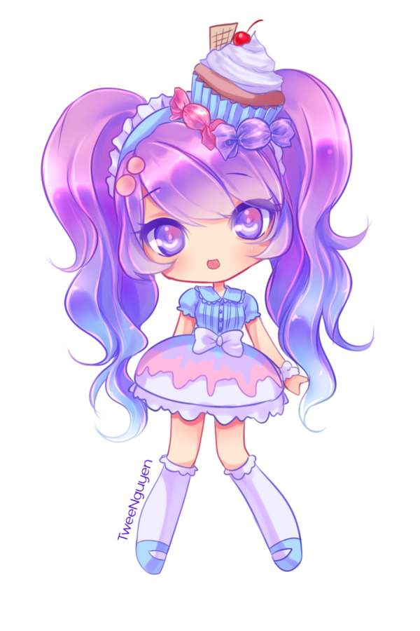 Drawing Candy Anime Girl Transparent Png Clipart Free Download