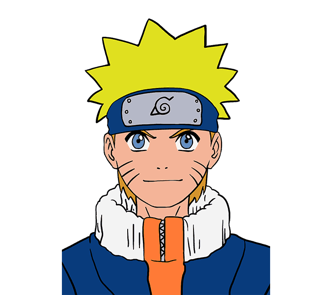 Anima drawing naruto. How to draw in