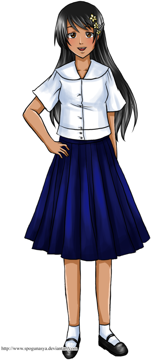 Philippines drawing anime. Download picture transparent library