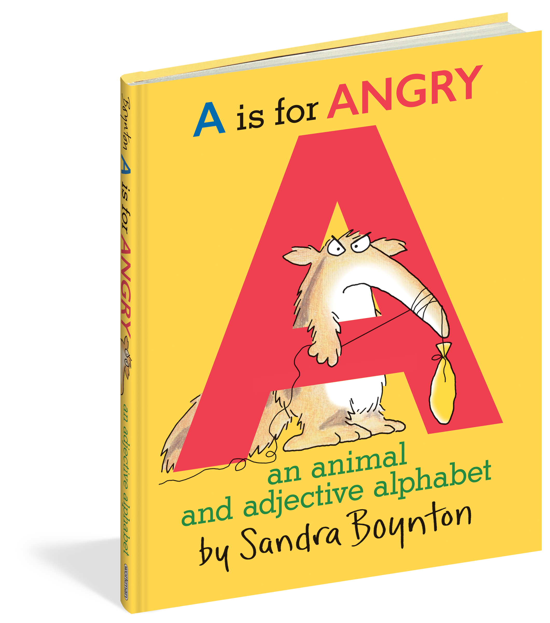 Animal alphabet png. A is for angry