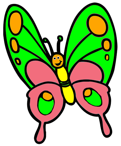 Animal clipart butterfly. Free cliparts download clip