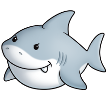baby shark png kawaii cartoon