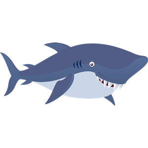 Animal clipart shark. Cute cliparts of free