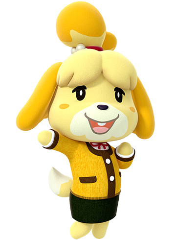 Animal crossing characters png. Amiibo festival for wii