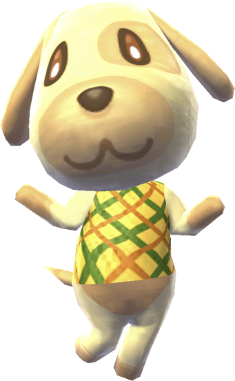 animal crossing goldie png