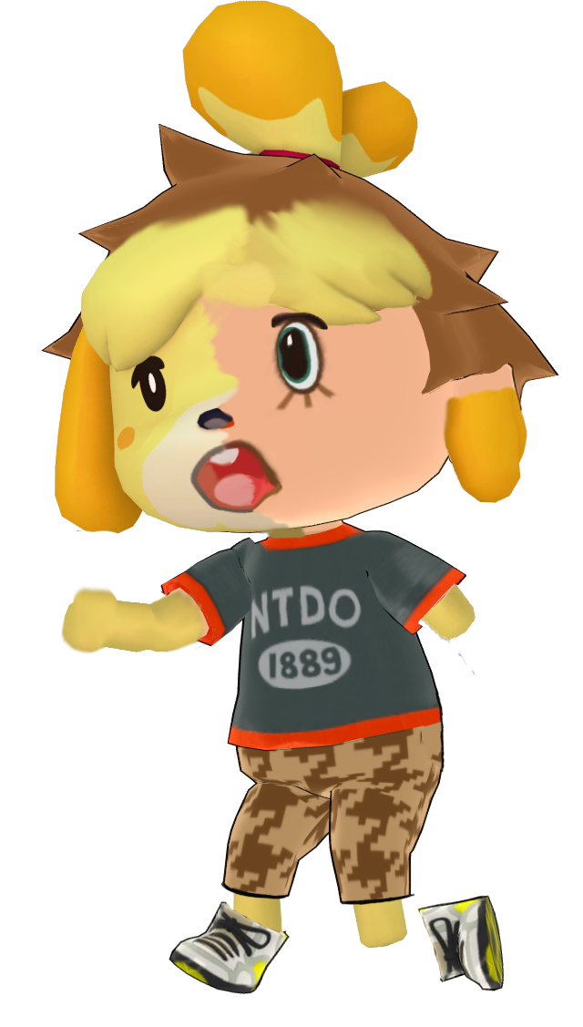 Animal crossing isabelle png. Tf tg by vgdcmario