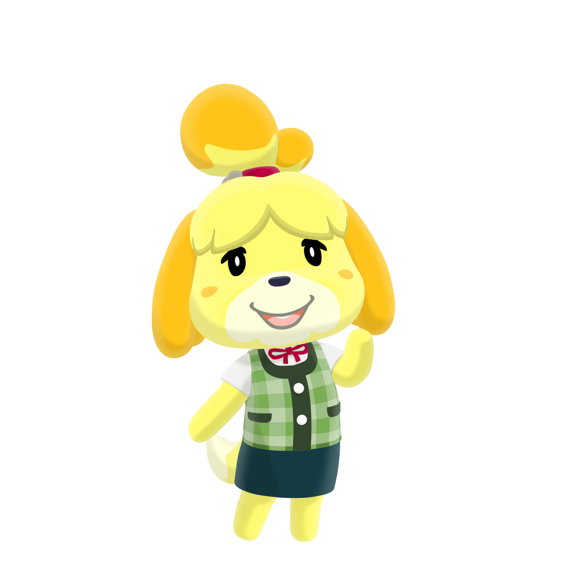 Animal crossing isabelle png. Image pocket camp character