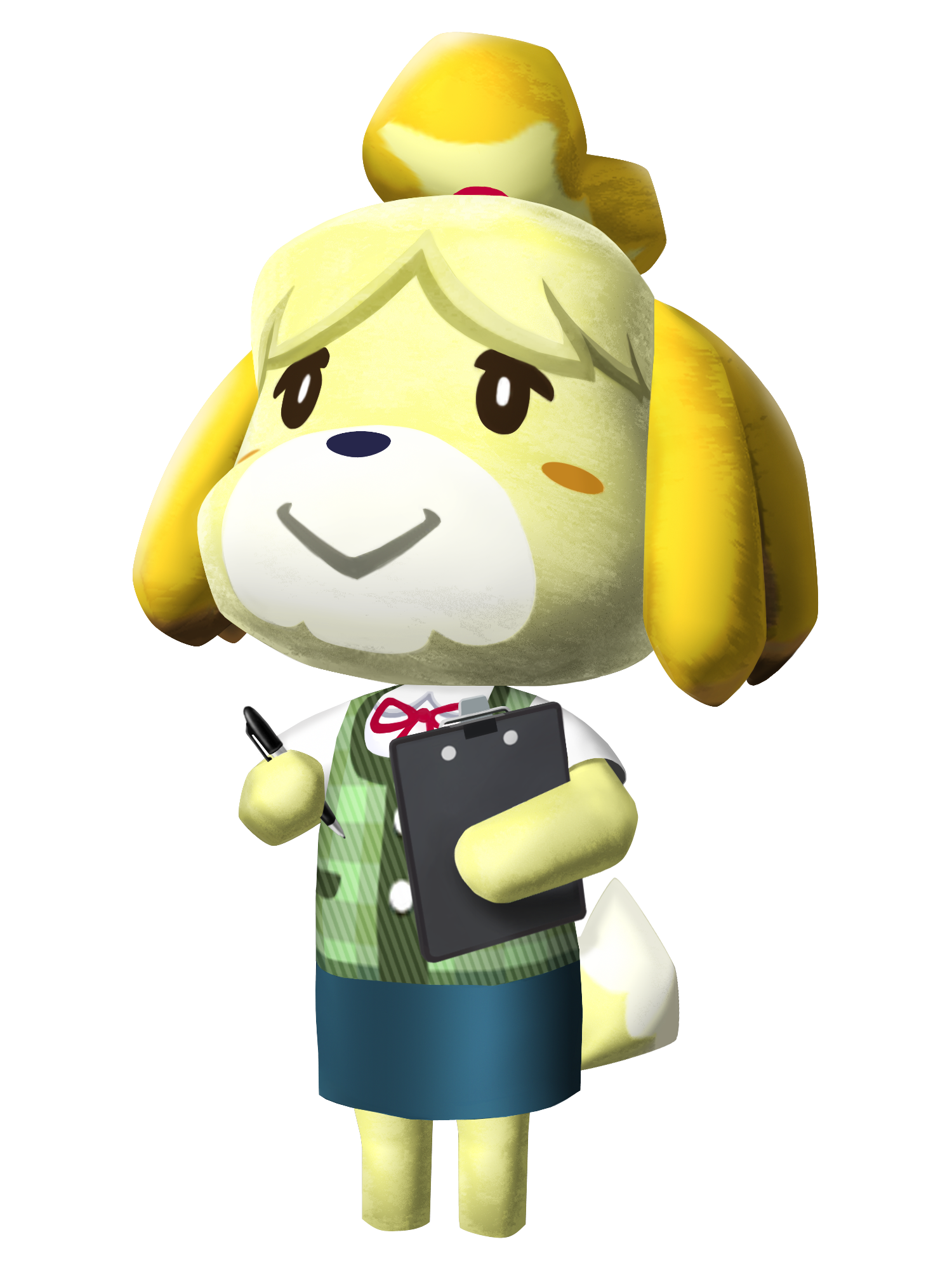 Animal crossing new leaf png. Image isabelle video games
