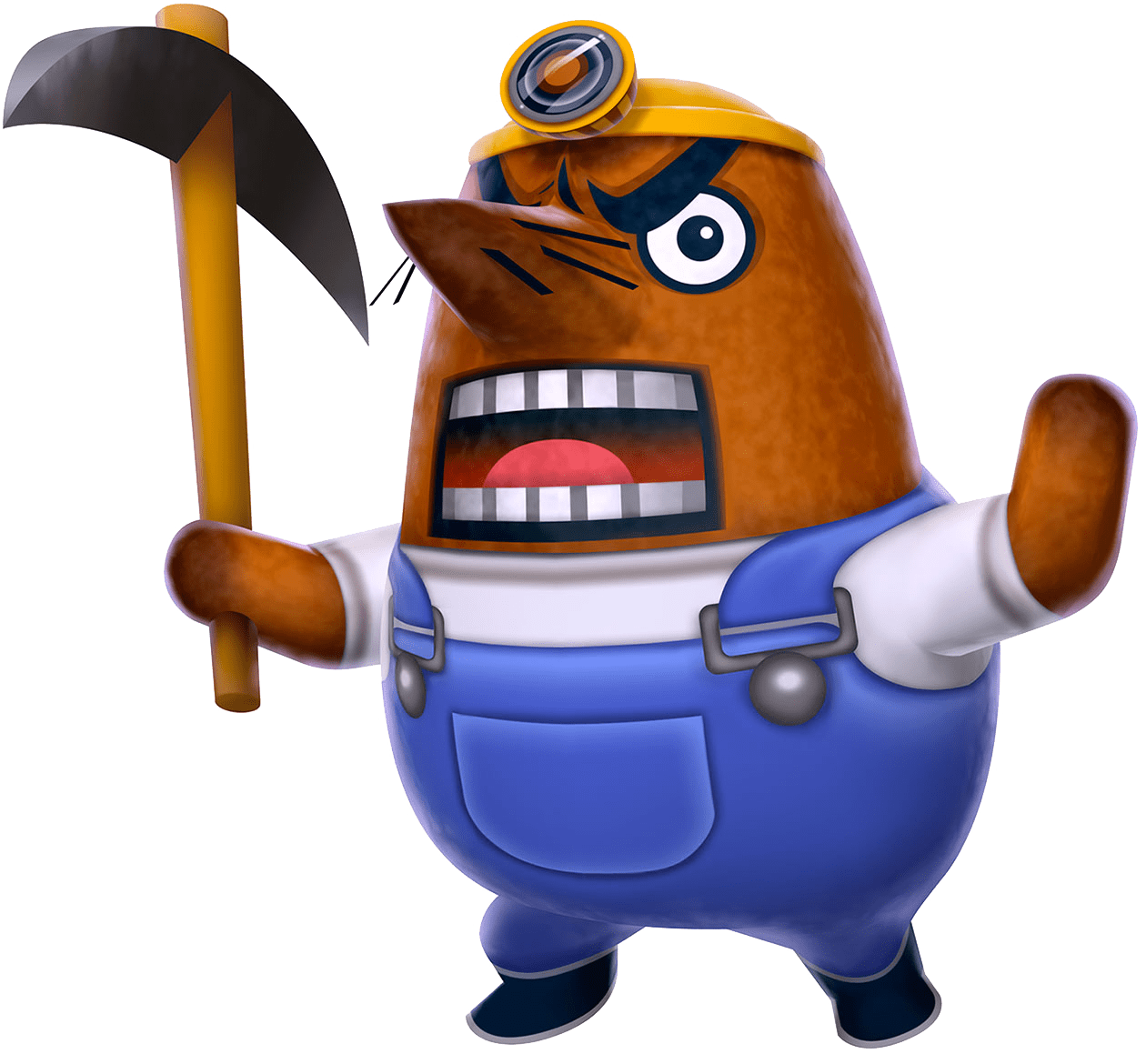 Animal crossing png. Mr resetti transparent stickpng
