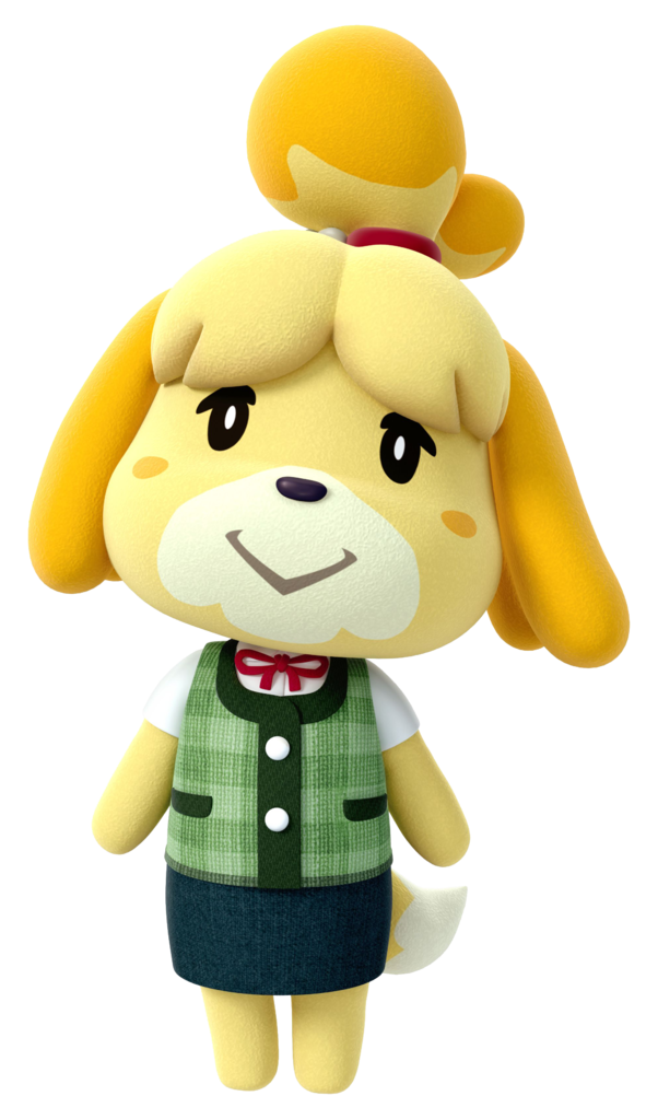 Isabelle in Animal Crossing New Leaf