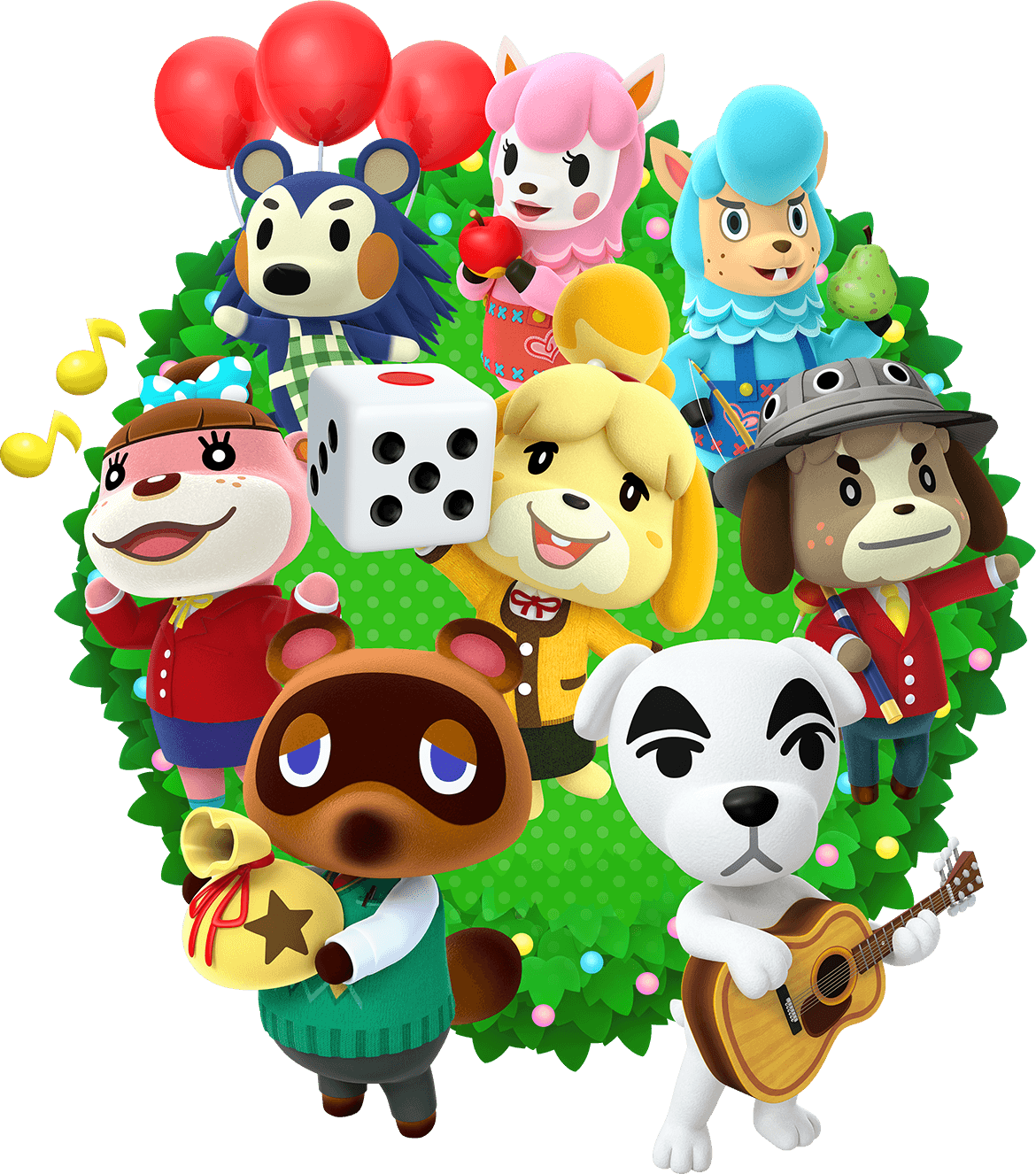 Animal crossing png. Amiibo festival for wii