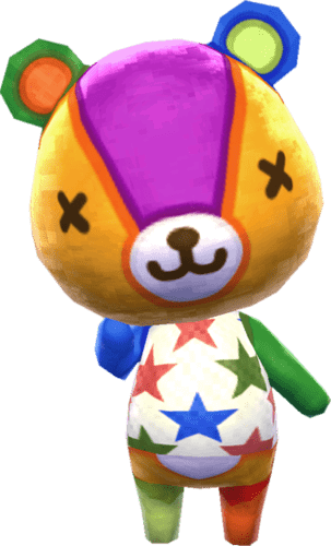 Stitches transparent. Animal crossing png stickpng