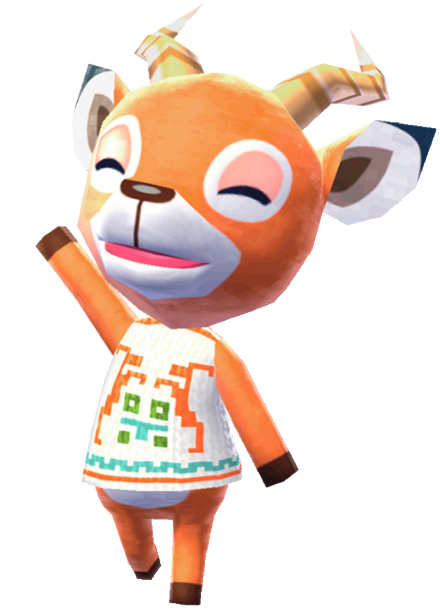 Animal crossing villager png. Image beau newleaf official
