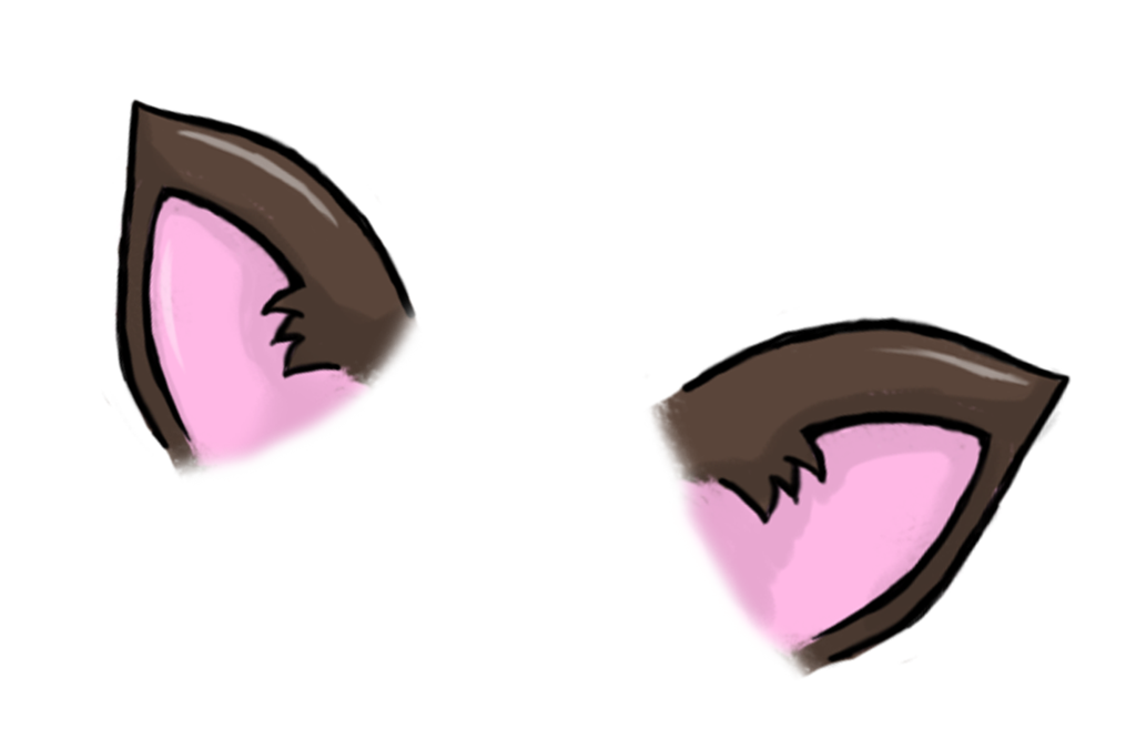 anime cat ears png