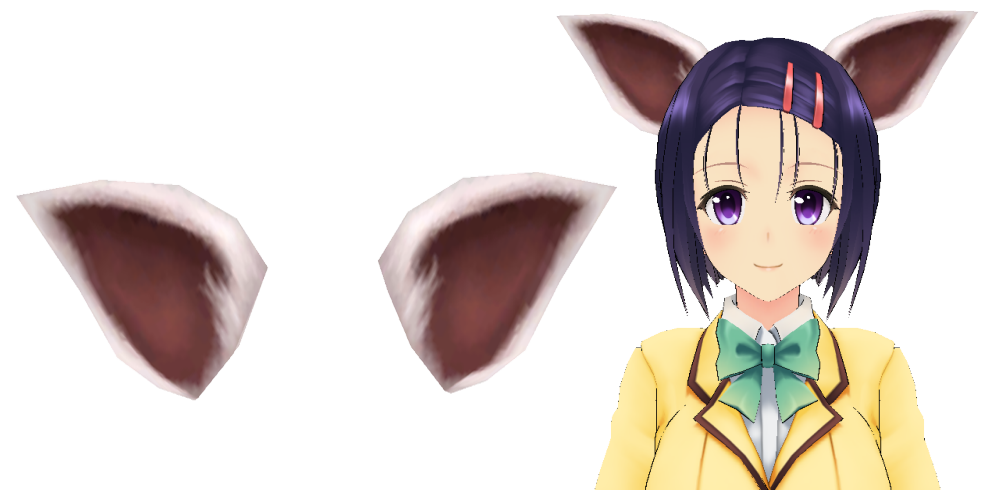 Anime cat ears png. Rappelz head decoration by