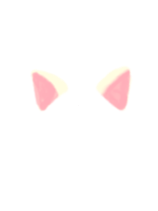 Cat ear png. Animal ears clipart