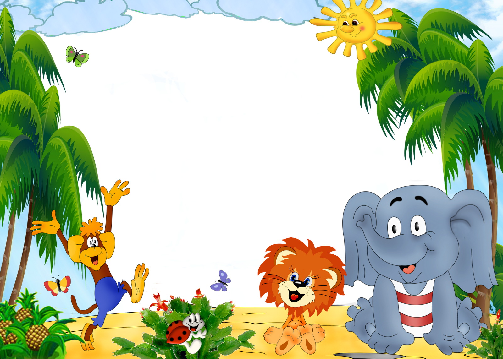 Png backgrounds for kids. Photoshop frame hd wallpapers