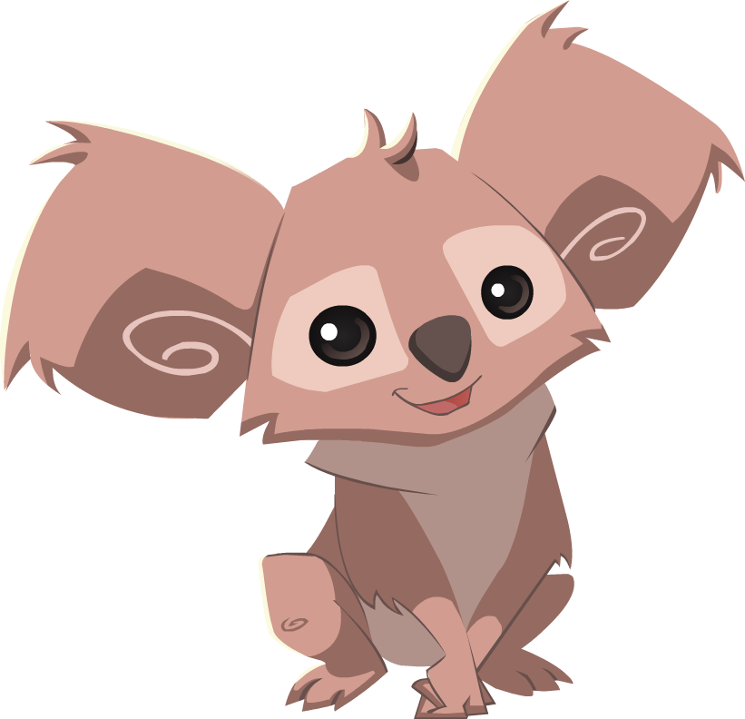 transparent koala animal jam