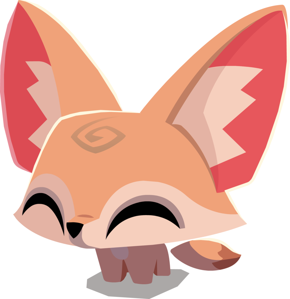 animal jam fox png