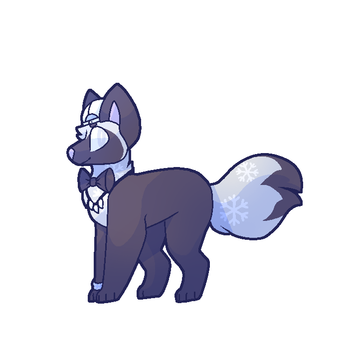 Animal jam arctic wolf png. Art by suitcasedog on