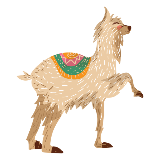 Animal legs png. Llama illustration transparent svg