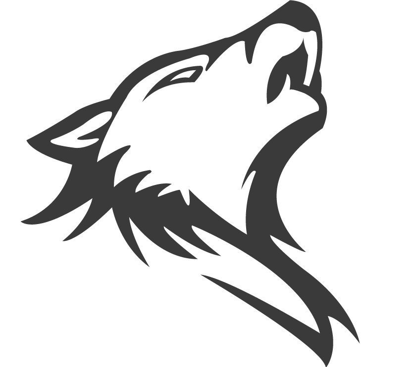 Wolf png logo. Image pack of the