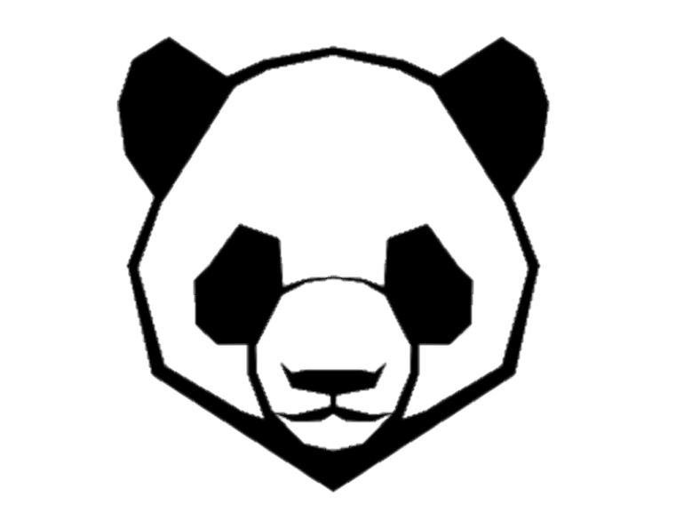 Image result for pngs. Dj panda png graphic black and white library