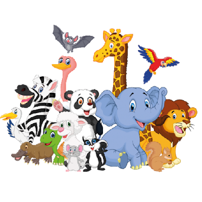 Animals cartoon png. Baby jungle free to