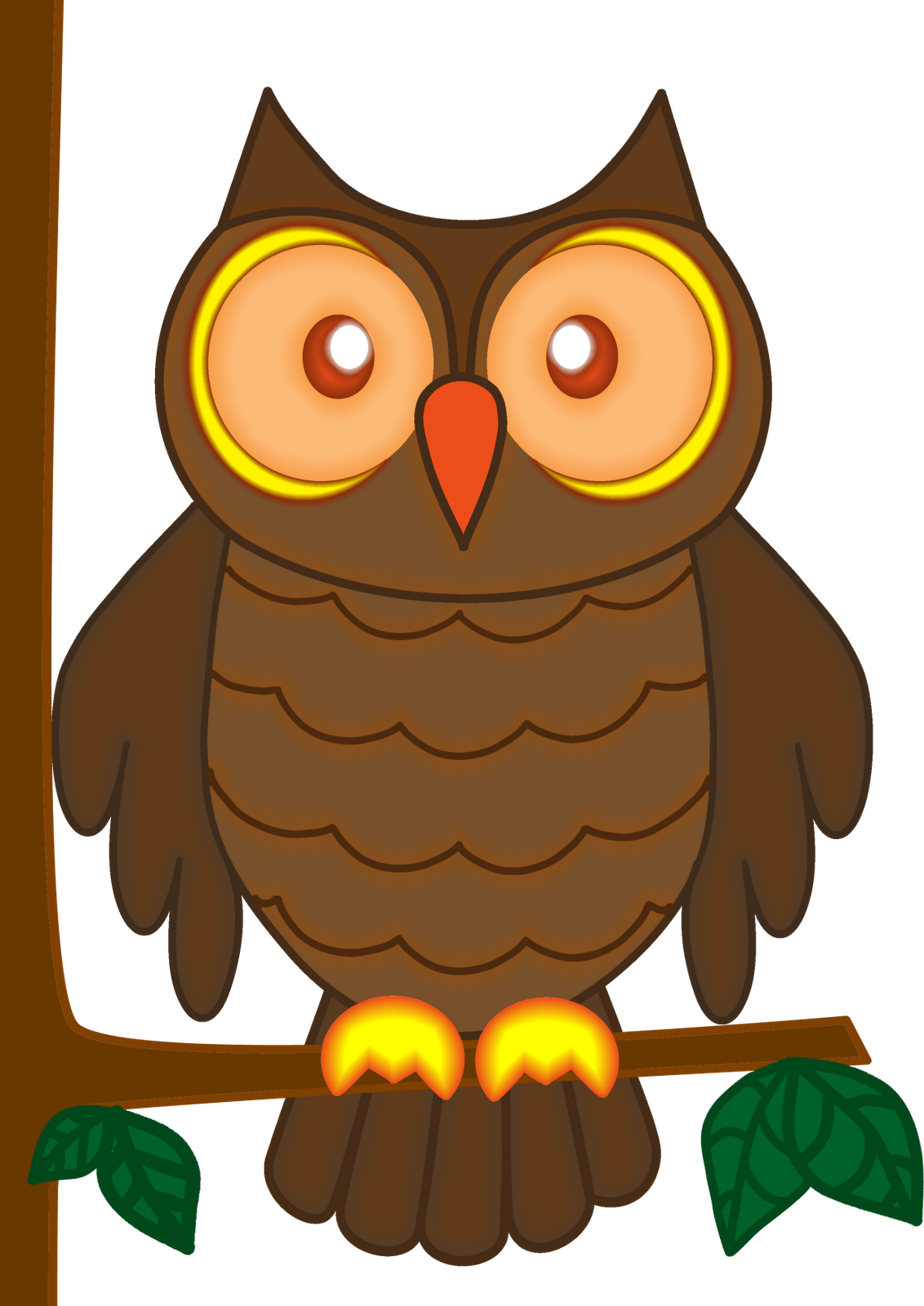 Animals clipart owl. Craft projects clipartoons cartoon