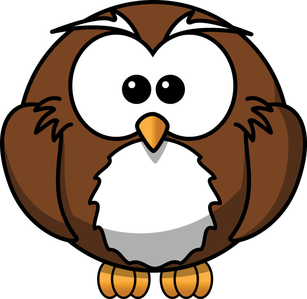 Animals clipart owl. Night typegoodies me free