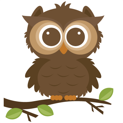 Animals clipart owl. Free cute animal forrest